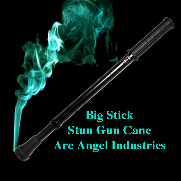 Big Stick Stun Gun Cane